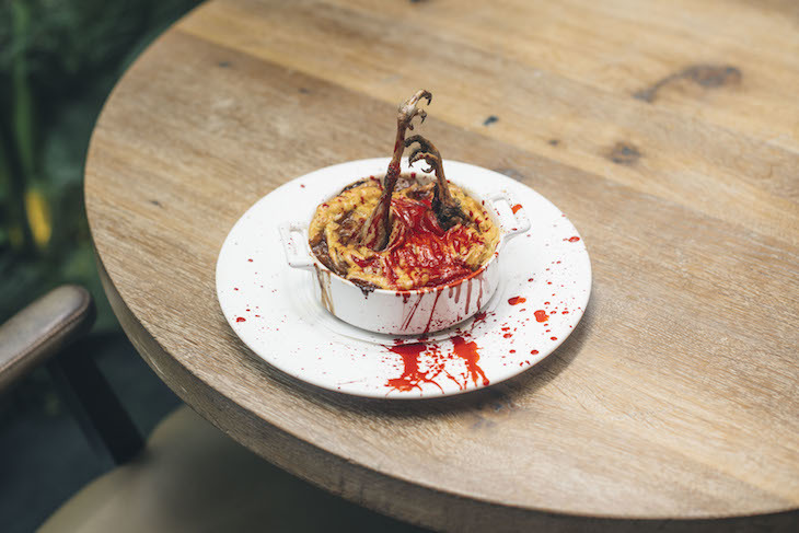 Sweeney Todd pies at New Street Warehouse: best Halloween 2018 food and drink in London