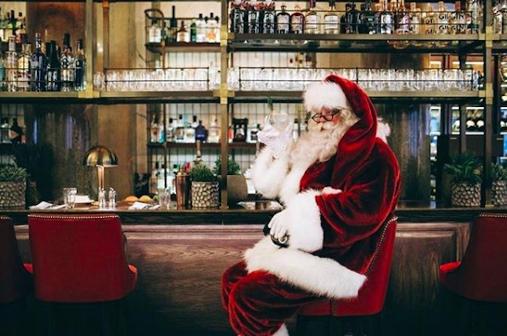 Christmas Day at Holborn Dining Room: where to eat Christmas dinner in London on Christmas Day 2018