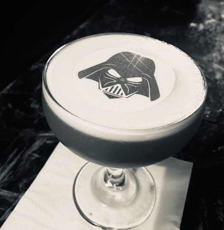 The Darth Vader cocktail at London Cocktail Club: best Halloween 2018 food and drink in London