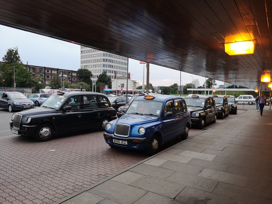 Told You There Would Be Black Cabs