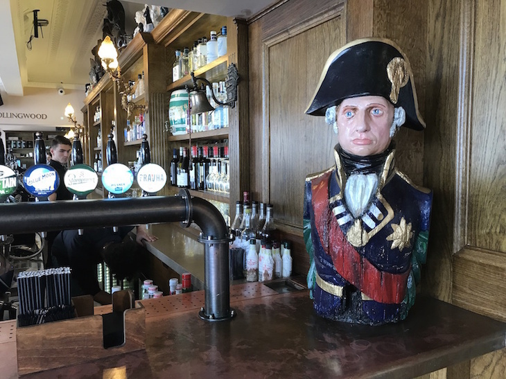 The Trafalgar Tavern pub, Greenwich: The best food and drink, eating and dining, restaurants, cafes, bars and pubs in Greenwich