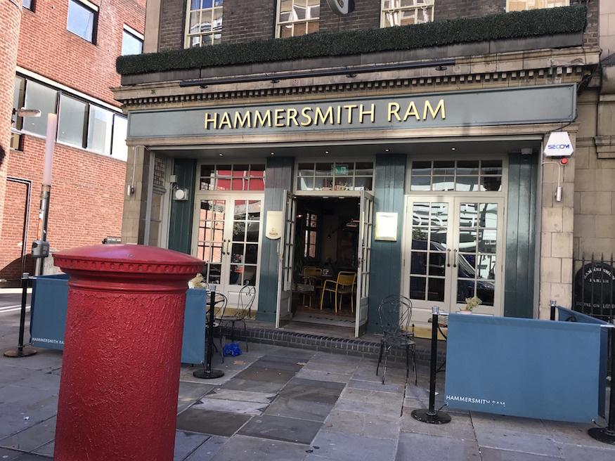 Image result for Hammersmith Ram hammersmith pub