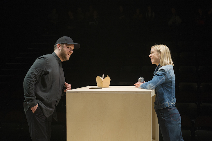 Stories at Dorfman Theatre National Theatre review