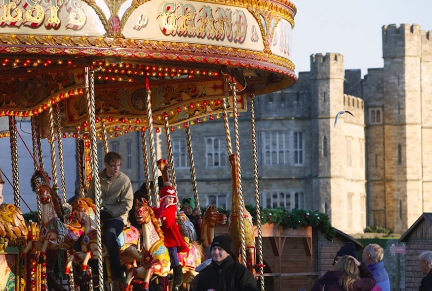 Leeds Castle Christmas market: things to do in Kent at Christmas