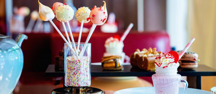 American afternoon tea at The Dorchester: Thanksgiving 2018 meals, menus and events in London