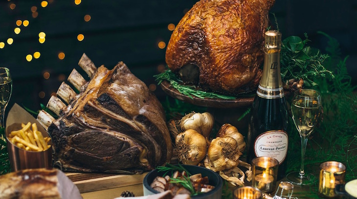 Christmas day dinner at Sea Containers, Mondrian London: where to eat Christmas dinner in London on Christmas Day 2018