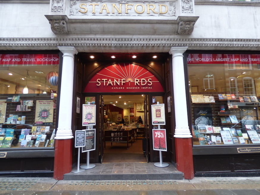 Stanfords Long Acre