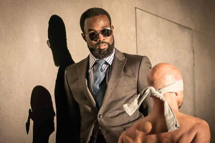 Paapa Essiedu in Pinter One at Harold Pinter Theatre