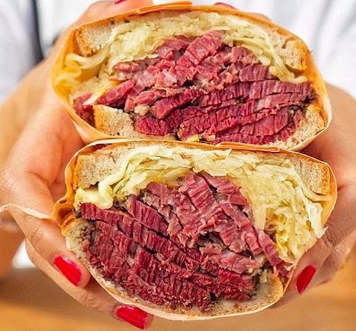 Reuben sandwich in London: where to get regional American food in London