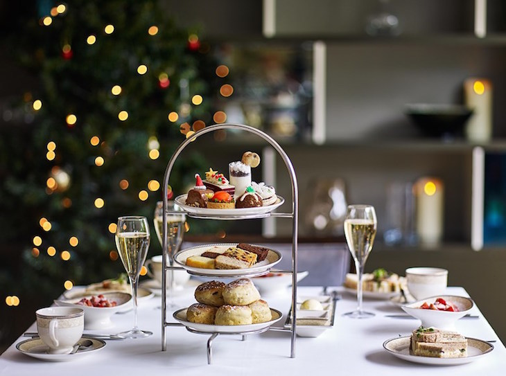 Christmas afternoon tea at The Royal Garden Hotel, Kensington: Christmas afternoon teas 2018 in London
