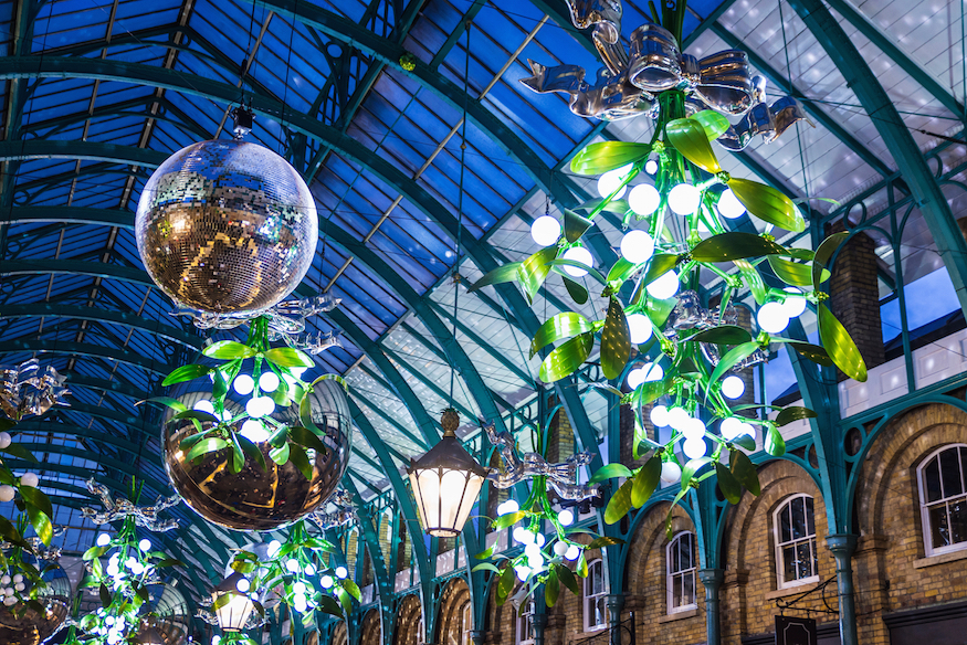Christmas in Covent Garden: guide to Christmas in London, events, things to do, lights, markets, food, drink