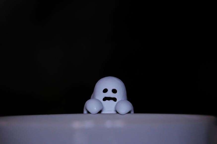 Cute ghost.