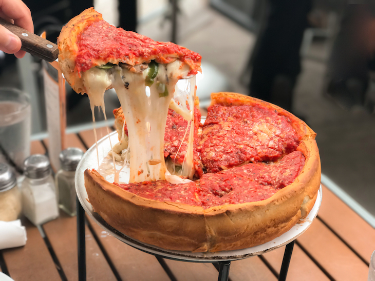 Chicago style pizza in London: where to get regional American food in London