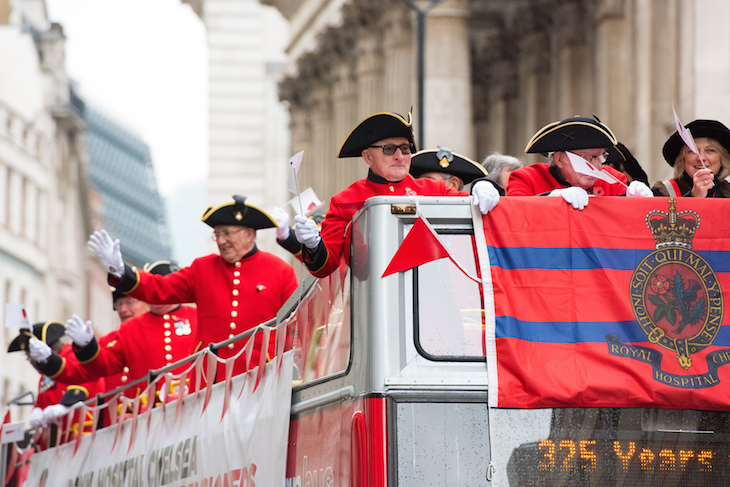 Chelsea Pensioners in the 2017 Lord Mayor's Show procession: Lord Mayor's Show 2018 guide