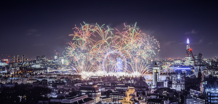 New Year's Eve fireworks in London: Things to do in London between Christmas and New Year 2018