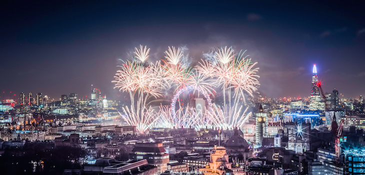 New Year's Eve in London: guide to Christmas in London, events, things to do, lights, markets, food, drink