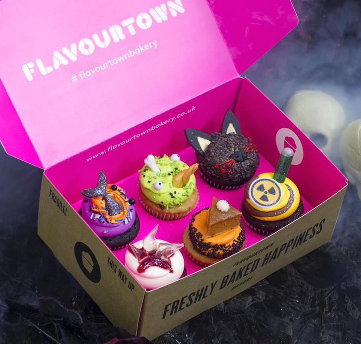 Flavourtown Bakery Halloween cupcakes: London's best Halloween 2018 food and drink