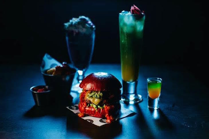 Stranger Things Halloween menu at All Star Lanes - Halloween food and drink in London