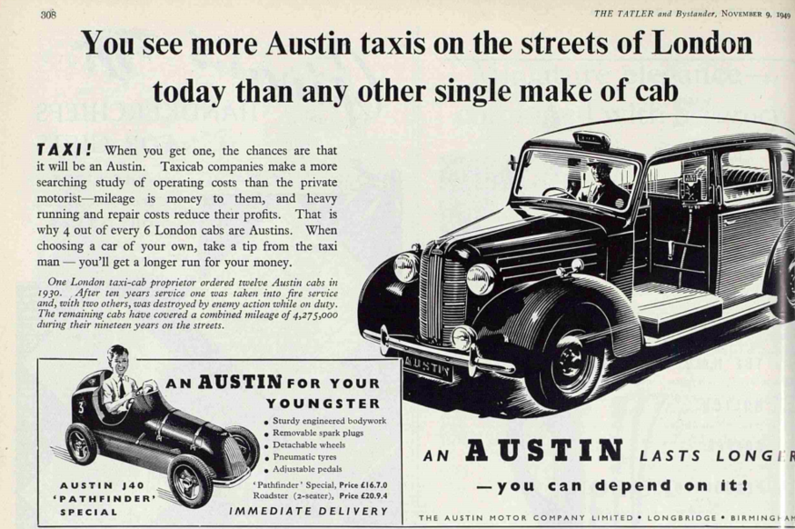 5 Things You Didn't Know About The London Cab | Londonist