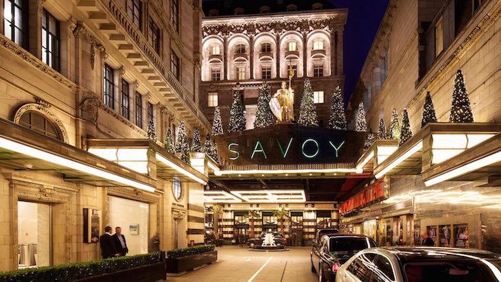 Christmas dinner at The Savoy: where to eat Christmas dinner in London on Christmas Day 2018