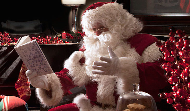 Father Christmas storytelling at Fortnum & Mason: Santa's Grottos in London for Christmas 2019
