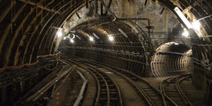 Rare Chance To Walk Through A Tube Tunnel With Mail Rail
