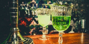Drink From An Absinthe Fountain At This New Basement Bar Dedicated To The Green Fairy