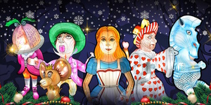 Fall Down The Rabbit Hole At This Alice In Wonderland Themed Christmas Festival