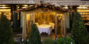 Le Lodge D'Hiver: Is This Riverside Cabin London's Most Romantic Winter Pop-Up?