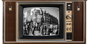Which Part Of London Still Watches TV In Black And White The Most?