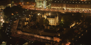 In Photos: Thousands Of Flames Illuminate The Tower Of London