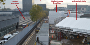 HS2 At Euston: What's Going On Behind The Hoardings?