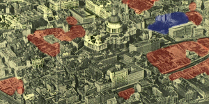How The City Of London Was Still Bomb-Scarred 14 Years After The Blitz