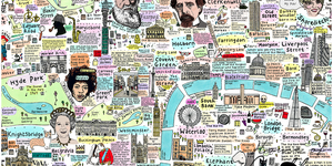 A Richly Detailed Map Of London's History And Culture