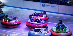 Get Your Adrenaline Fix With Bumper Cars On Ice This Winter