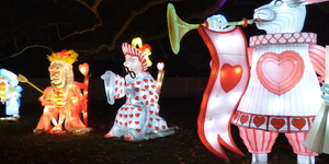 Alice In Winterland: Photos of London's New Lantern Festival