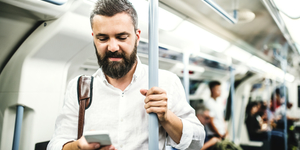 This App Wants To Get People Talking On The Tube
