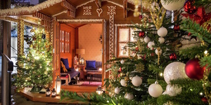 Live Your Fairytale Dreams In Your Own Gingerbread House This Winter