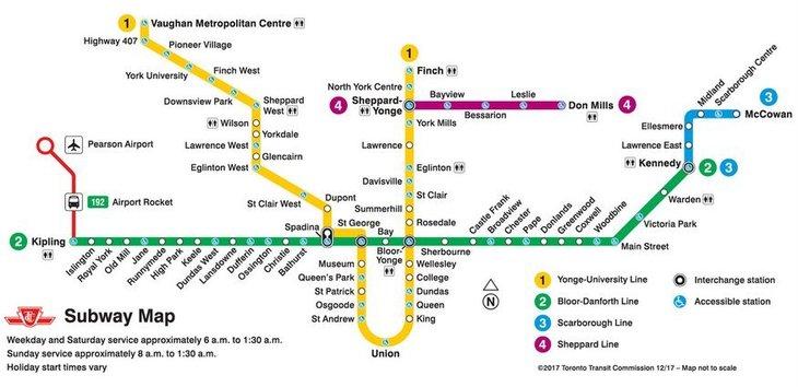 London Underground Subway Map.London Underground Vs Toronto Transit Commission Which Is Better