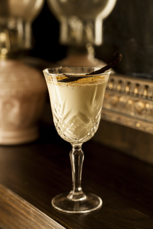 Make This Christmas Cocktail: A Boozy Eggnog With A Debauched Past