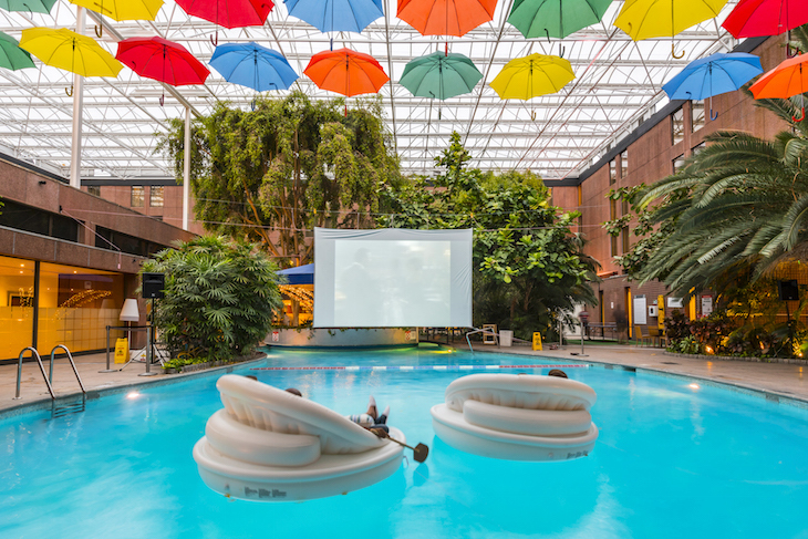 Floating cinema at Sheraton Heathrow:  - where to watch Christmas 2018 films in London