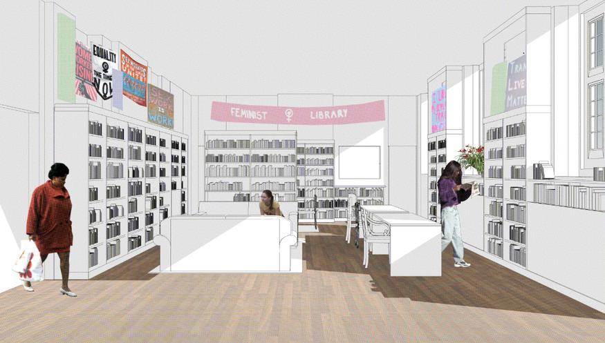 Feminist Library plans