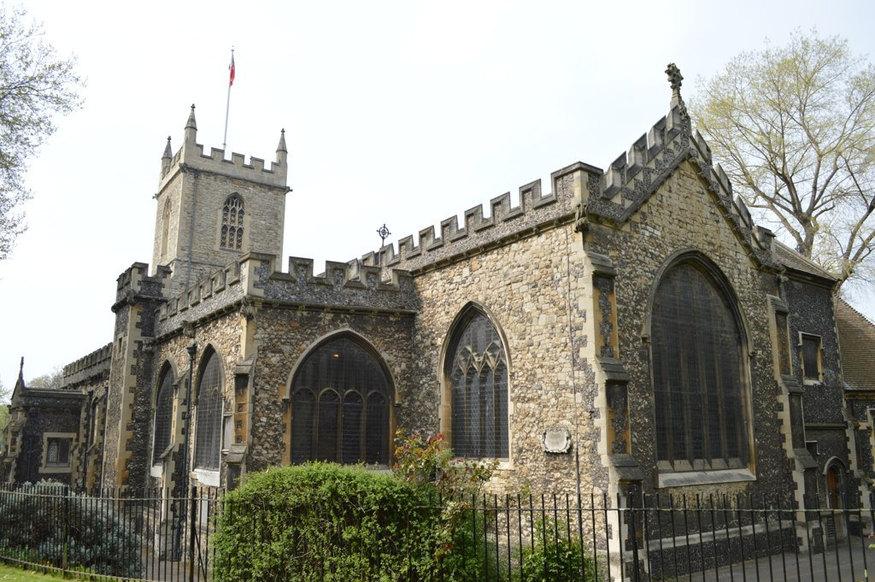 St Dunstan's Stepney.