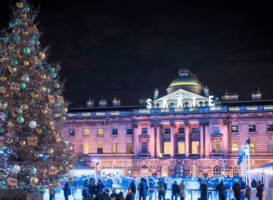 bee20fd44144 Somerset House is one of the ice rinks open on Boxing Day