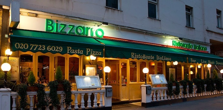 Bizzarro in Paddington, where one of the best lasagne in London can be found