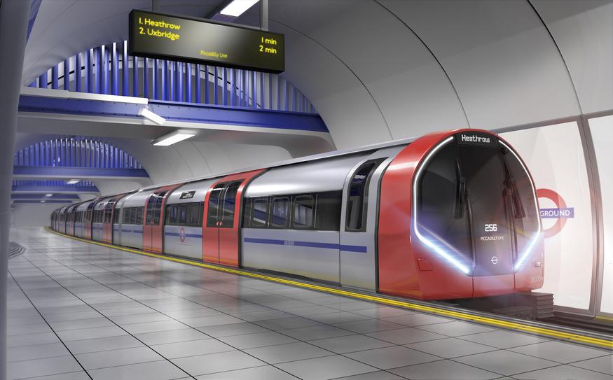 New Tube train.