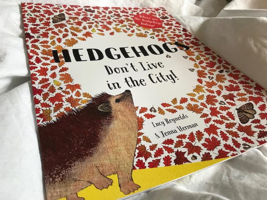 A book about hedgehogs that your children might like.