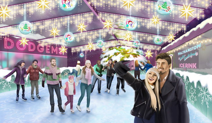 Walthamstow Winter Wonderland 2018 ice rink: where to go ice skating in London Christmas 2018