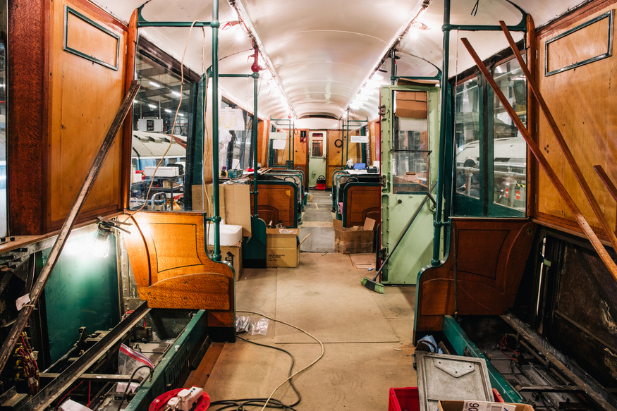 Q Stock, London Transport Museum