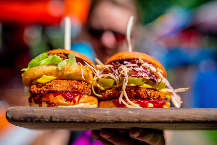 Vegan Wings And Burgers Are A Welcome Addition At Boxpark